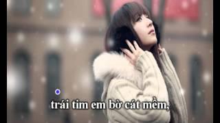 Download Ánh trăng nói hộ lòng em - Karaoke Beat Video