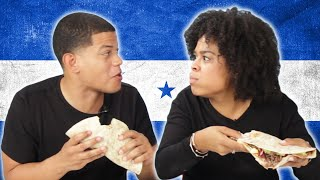 Download Dominicans Try Honduran Baleadas For The First Time Video