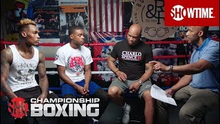 Download Errol Spence, Jermell Charlo & Derrick James: Dallas Round Table | SHOWTIME CHAMPIONSHIP BOXING Video