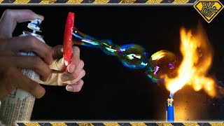Download Are BUBBLES Flammable? Video