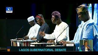 Download Badamosi, Sanwo-Olu, Agbaje, Salis Slug It Out At Lagos Governorship Debate Video