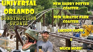 Download Universal Orlando Resort Construction Update 6.12.18 POTTER COASTER, NEW JURASSIC PARK RIDE & MORE! Video