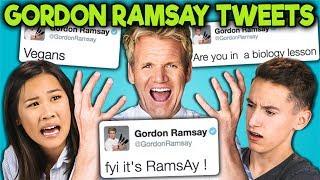 Download TEENS READ GORDON RAMSAY'S SAVAGE TWEETS!!! (React) Video