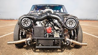 Download Daddy Dave reveals Goliath's NEW twin-turbo setup! Video