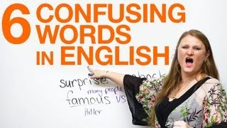 Download 6 Confusing Words: fun & funny, famous & popular, surprise & shock Video