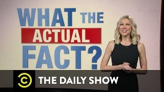 Download What the Actual Fact? - Donald Trump Lays Out His Economic Plan: The Daily Show Video