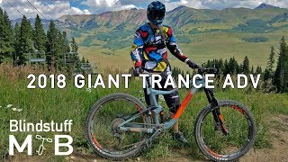 Download 2018 Giant Trance Adv 2 Test Ride & Review | Outerbike Crested Butte Day 2 - Morning Video