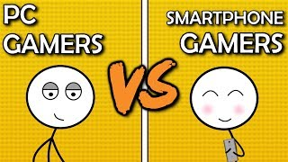 Download PC Gamers VS Smartphone Gamers Video