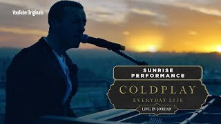 Download Coldplay: Everyday Life Live in Jordan - Sunrise Performance Video