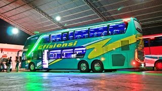 Download Bus Tingkat Mewah Efisiensi Mercedes-Benz OC500RF 2542 Video