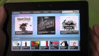Download BlackBerry PlayBook Music App & 7digital Music Store Video