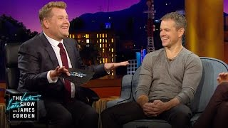 Download Matt Damon & James Corden: Separated at Birth? Video