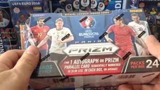 Download PANINI *PRIZM* EURO 2016 BOX BREAK #6 **AUTOGRAPH CARD PULL** Video