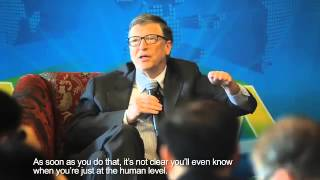 Download Baidu CEO Robin Li interviews Bill Gates and Elon Musk at the Boao Forum, March 29 2015 Video