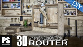 Download 3D Router, when a CNC machine is overkill. Video