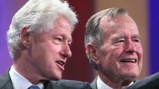 Download George H.W. Bush describes Clinton as 'de man!' Video