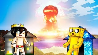 Download MINECRAFT: RETO DE LA BASE DE BEDROCK Vs BOMBA NUCLEAR 😱💥 ¿SOBREVIVIREMOS A LA MAYOR EXPLOSIÓN? Video