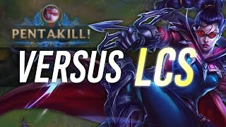 Download Imaqtpie - 1V9 VERSUS LCS PLAYERS Video