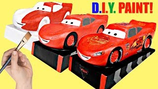 Download DIY DIsney CARS 3 Lightning Mcqueen Coin Bank Kids Craft Video