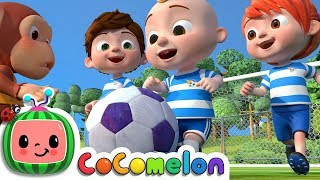 Download The Soccer Song (Football Song) | CoCoMelon Nursery Rhymes & Kids Songs Video