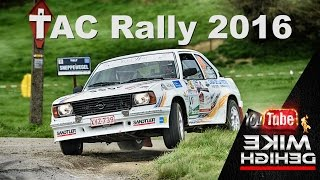 Download TAC Rally Belgie 2016 Action & Drifting PURE SOUND Video