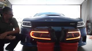 Download Custom Charger Headlights - comparison to stock, DRL vs Diode Dynamics replacements Video