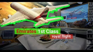 Download Emirates Airlines 1st class 🇦🇪 Airbus A380 Video