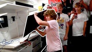Download Breaking Stuff At Frat Houses! Video