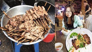 Download Bun Thit Nuong in Saigon ♦ VIETNAMESE STREET FOOD Video