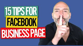 Download Facebook Business Page - 15 optimization tips (2018) Video
