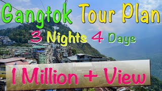 Download Gangtak Tour Plan | 3 Nights 4 Days Gangtok Tour Package | Best Places to Visit Near Gangtok Video