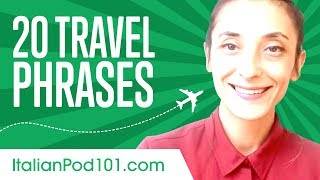 Download Learn the 20 Travel Phrases You Should Know in Italian Video