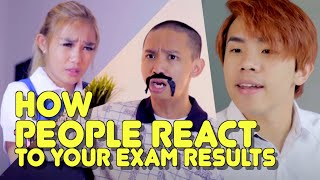 Download HOW PEOPLE REACT TO YOUR EXAM RESULTS Video