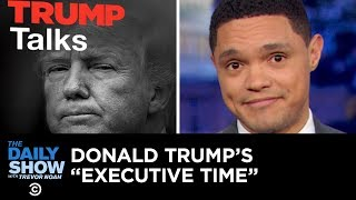 Download Trump's Leaked Private Schedule Causes a Stir | The Daily Show Video