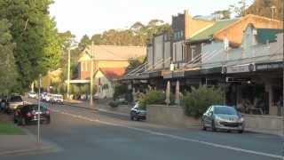 Download Bundanoon village, NSW, Australia Video