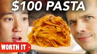 Download $8 Pasta Vs. $100 Pasta Video