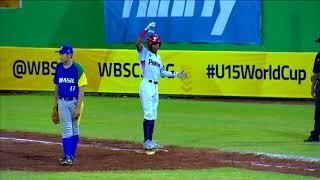 Download Highlights: Brazil v Panama - U-15 Baseball World Cup 2018 Video