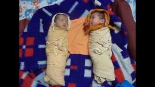 Download Twin babies - Laughing Talking Crying Sleeping Video