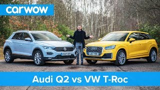 Download VW T-Roc vs Audi Q2 review - which is best?   carwow Video
