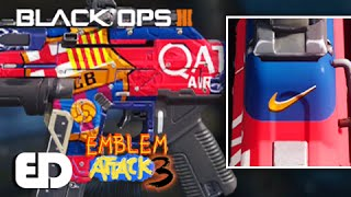 Download Black Ops 3: BARCELONA Theme Paint Job Tutorial (Emblem Attack 3) Video