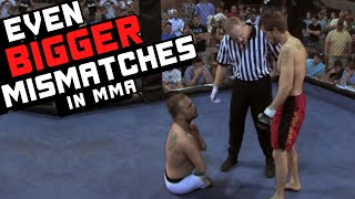 Download Even BIGGER Mismatches In MMA Video