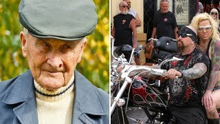 Download 91-Year Old Gets Harassed By 3 bikers, Then Stands Up And Takes The Ultimate Revenge Video