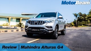 Download Mahindra Alturas G4 Review - Better Than Fortuner? | MotorBeam Video