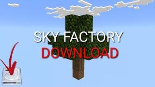 Download MINECRAFT pe come installare la sky factory Video