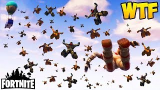 Download 100 PLAYERS JUMP AT THE SAME TIME! - Fortnite Funny Fails and WTF Moments! #129 (Daily Moments) Video