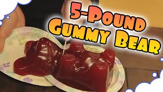 Download Dan and Arin Demolish a Giant Gummy Bear - GrumpOut Video