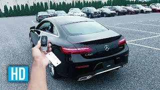 Download 2018 MERCEDES E CLASS COUPE STARTUP EXHAUST ENGINE REVS SOUND 🔥 Video