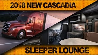 Download Check Out the 2018 New Cascadia's Sleeper Lounge Video
