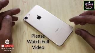Download New iOS 11 easy way to unlock iCloud Activation lock permanently remove iPhone 7 IMEI matching Video