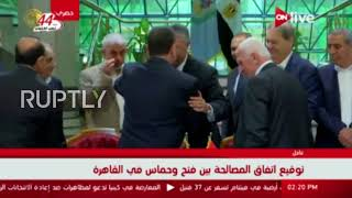 Download Egypt: Hamas and Fatah sign reconciliation agreement in Cairo Video